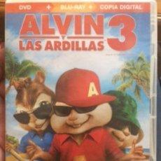 Cine: ALVIN Y LAS ARDILLAS 3. INCLUYE COPIA DIGITAL.. Lote 137128314