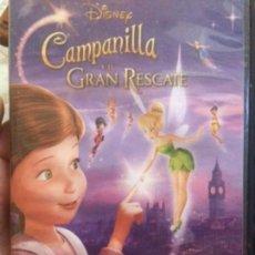 Cine: DISNEY. CAMPANILLA Y EL GRAN RESCATE.. Lote 137128402