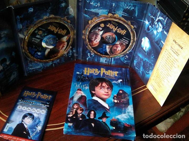 Harry Potter y la Piedra filosofal (Chris Columbus, 2001) ed. digipack 2 discos con afiche segunda mano