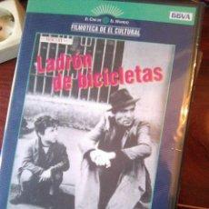 Cine: EL LADRÓN DE BICICLETAS (VITTORIO DE SICA, 1948) - PRECINTADA -. Lote 137195486
