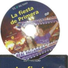 Cine: DVD FUTBOL - LA FIESTA DE PRIMERA - ASCENSO DEL REAL VALLADOLID EL AÑO 2007 EN TENERIFE. Lote 137206370
