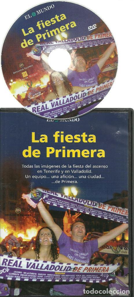 Cine: DVD FUTBOL - LA FIESTA DE PRIMERA - ASCENSO DEL REAL VALLADOLID EL AÑO 2007 EN TENERIFE - Foto 2 - 137206450