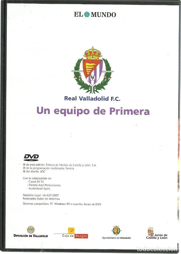 Cine: DVD FUTBOL - LA FIESTA DE PRIMERA - ASCENSO DEL REAL VALLADOLID EL AÑO 2007 EN TENERIFE - Foto 3 - 137206450