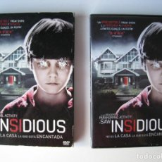 Cine: DVD - INSIDIOUS.. Lote 137259390