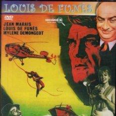 DVD -FANTOMAS (LOUS DE FUNES) - PERSIGUIENDO AL CRIMINAL INALCANZABLE DE LAS MIL CARAS
