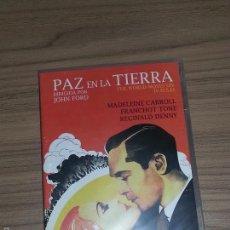 Cine: PAZ EN LA TIERRA DVD DE JOHN FORD MADELEINE CARROL NUEVA PRECINTADA. Lote 183995307