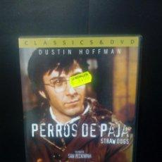 Cine: PERROS DE PAJA DVD. Lote 137299366