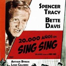 Cinema: 20.000 AÑOS EN SING SING (NUEVO). Lote 137300354