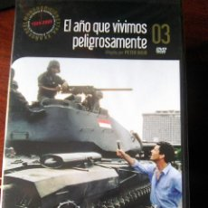 Cine: EL AÑO QUE VIVIMOS PELIGROSAMENTE ( PETER WEIR, 1982). Lote 137308638