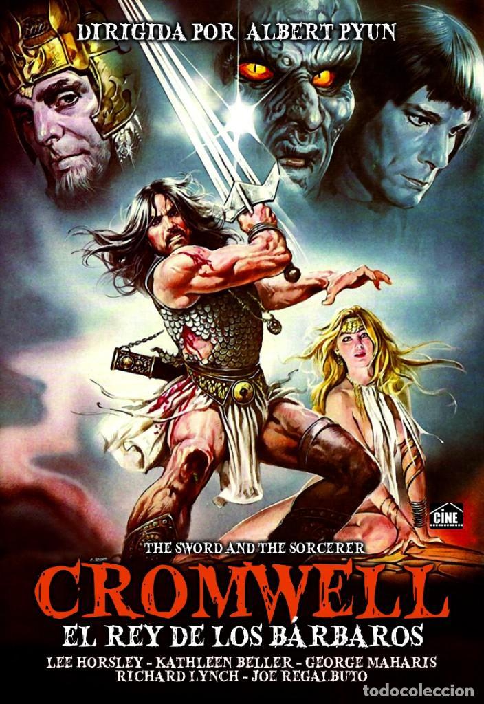 CROMWELL EL REY DE LOS BARBAROS (NUEVO) (Cine - Películas - DVD)