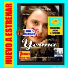 Cine: YERMA - AITANA SÁNCHEZ GIJÓN - BASADA EN LA OBRA DE FEDERICO GARCÍA LORCA - PRECINTADA - NUEVA. Lote 137356538