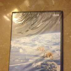 Cine: PLANETA TIERRA COMO NUNCA LO HAS VISTO. POLOS (DVD) PRECINTADO. Lote 137366113