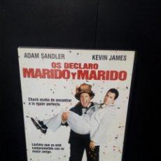 Cine: OS DECLARO MARIDO Y MARIDO DVD. Lote 137425504