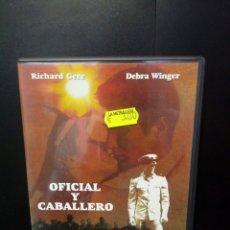 Cine: OFICIAL Y CABALLERO DVD. Lote 137426932