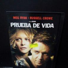 Cine: PRUEBA DE VIDA DVD. Lote 137445229