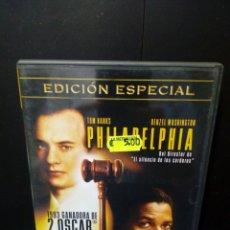 Cine: PHILADELPHIA DVD. Lote 137446121