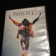 Cine: MICHAEL JACKSON THIS IS IT DVD. Lote 137469326