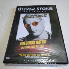 Cine: ASESINOS NATOS DVD NUEVO PRECINTADO OLIVER STONE. Lote 137471026