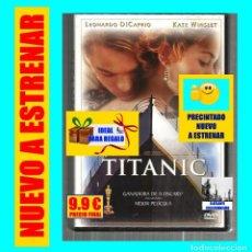 Cine: TITANIC - LEONARDO DICAPRIO KATE WINSLET JAMES CAMERON - NUEVA - PRECINTADA. Lote 137478366