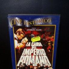 Cine: LA CAÍDA DEL IMPERIO ROMANO DVD. Lote 137550752