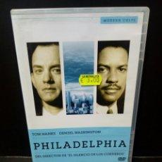 Cine: PHILADELPHIA DVD. Lote 137556582
