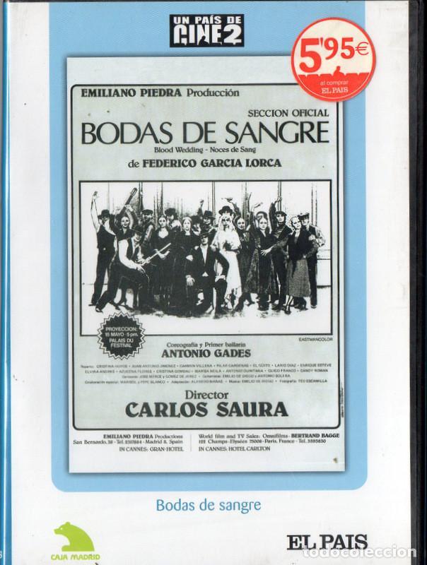 BODAS DE SANGRE (CARLOS SAURA) (PRECINTADA) (Cine - Películas - DVD)