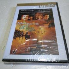 Cine: MEDIANOCHE EN EL JARDÍN DEL BIEN Y DEL MAL DVD NUEVO PRECINTADO CLINT EASTWOOD. Lote 137582682