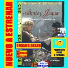Cine: AIMÉE Y JAGUAR - OSO DE PLATA FESTIVAL BERLIN 1999 - MAX FÄRBERBÖCK JULIANE KÖHLER MARIA SCHRADER. Lote 137675298