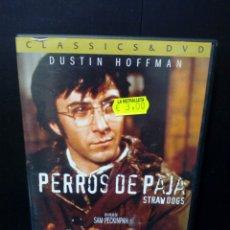 Cine: PERROS DE PAJA DVD. Lote 137697926