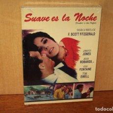 Cine: SUAVE ES LA NOCHE - JENNIFER JONES - JASON ROBARDS - DE HENRY KING - DVD NUEVO PRECINTADO. Lote 137723670