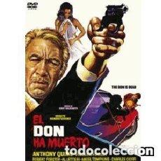 Cine: EL DON HA MUERTO. DVD. NUEVO. PRECINTADO.RICHARD FLEISCHER. Lote 137772246