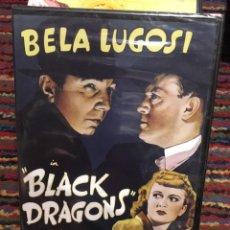 Cine: BLACK DRAGONS-BELA LUGOSI NUEVO PRECINTADO. Lote 137827314