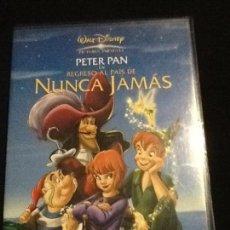 Cine: PETER PAN REGRESO AL PAÍS DE NUNCA JAMÁS DVD. Lote 137850770