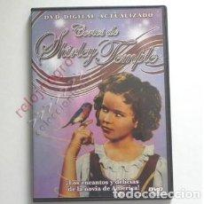 Cine: CORTOS DE SHIRLEY TEMPLE - DVD NIÑA ACTRIZ EEUU ACTÚA CANTA Y BAILA - CORTO PERDÓN POR MIS PERRITOS. Lote 137863386