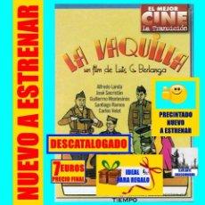 Cine: LA VAQUILLA - UN FILM DE LUIS G. BERLANGA GUERRA CIVIL ESPAÑOLA - COMEDIA ALFREDO LANDA - PRECINTADA. Lote 137867034