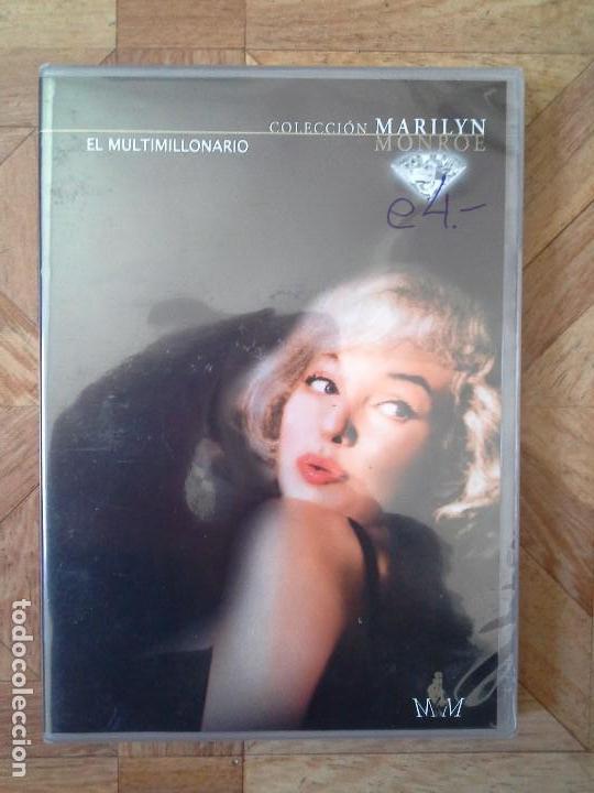 COLECCIÓN MARILYN MONROE - EL MULTIMILLONARIO - PRECINTADO (Cine - Películas - DVD)
