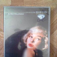 Cine: COLECCIÓN MARILYN MONROE - EL MULTIMILLONARIO - PRECINTADO. Lote 137876310