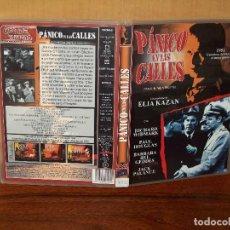 Cine: PANICO EN LAS CALLES - RICHARD WIDMARK -JACK PALANCE - DE ELIA KAZAN -DVD DE 1950 EN B/N/. Lote 261695300