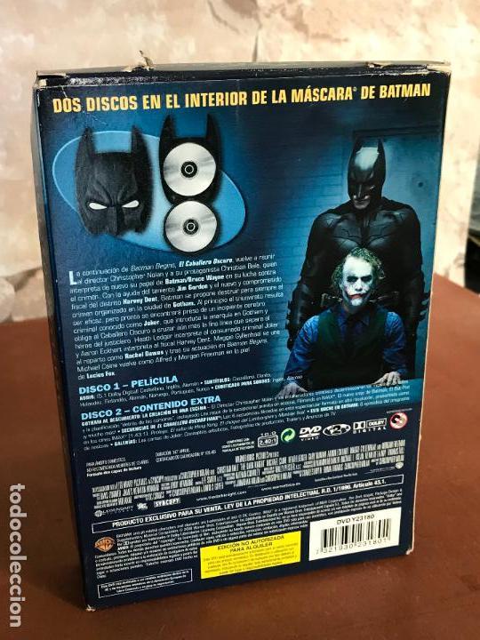 Cine: el caballero oscuro edicion limitada con mascara de batman - Foto 2 - 137916030