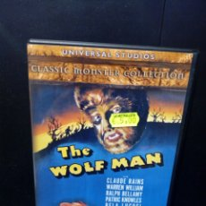 Cine: THE WOLF MAN DVD. Lote 137993061