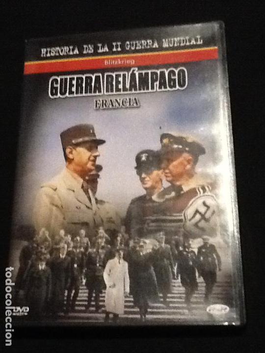 GUERRA RELÁMPAGO FRANCIA. II GUERRA MUNDIAL DVD (Cine - Películas - DVD)