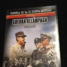 Cine: GUERRA RELÁMPAGO FRANCIA. II GUERRA MUNDIAL DVD. Lote 138059646