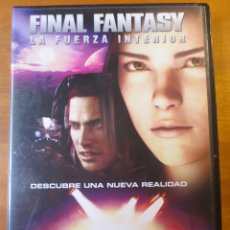 Cine: FINAL FANTASY LA FUERZA INTERIOR (2001) (DVD). Lote 138117286