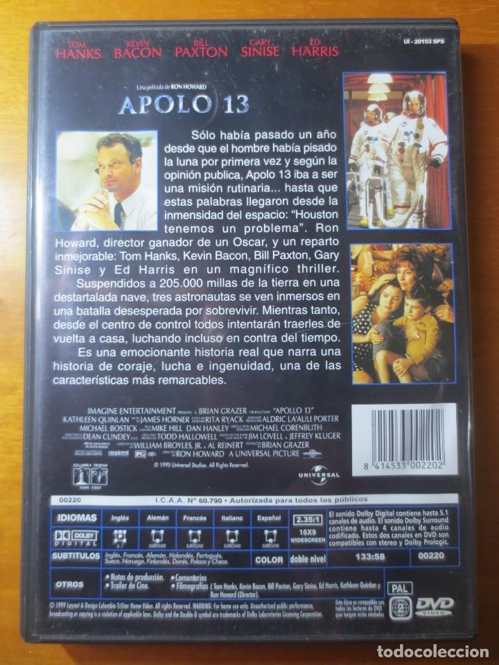 Cine: Apolo 13 (DVD) - Foto 2 - 138122274