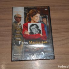 Cine: PARIS-MANHATTAN PARIS MANHATTAN DVD WOOD ALLEN NUEVA PRECINTADA. Lote 148100466