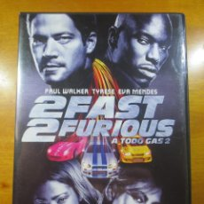 Cine: 2 FAST 2 FURIOUS (A TODO GAS 2) (DVD). Lote 138123446