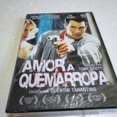 Cine: AMOR A QUEMARROPA DVD NUEVO PRECINTADO. Lote 138147082