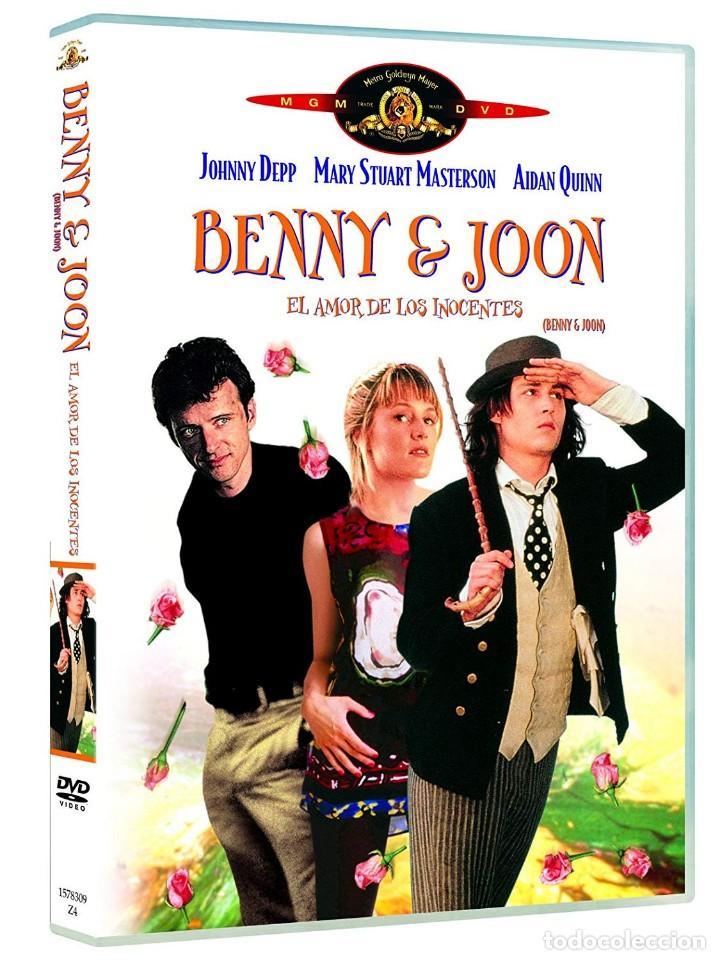 BENNY & JOON, EL AMOR DE LOS INOCENTES DVD (PRECINTADA). DESCATALOGADA! JOHNNY DEPP, AIDAN QUINN (Cine - Películas - DVD)
