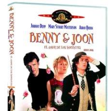 Cine: BENNY & JOON, EL AMOR DE LOS INOCENTES DVD (PRECINTADA). DESCATALOGADA! JOHNNY DEPP, AIDAN QUINN. Lote 138160714