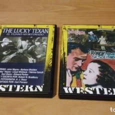 Cine: 2 DVD WESTERN. JOHN WAYNE. Lote 138165174